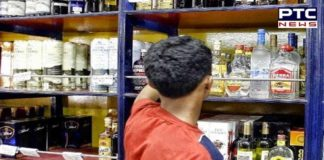 Noida liquor salesman shot