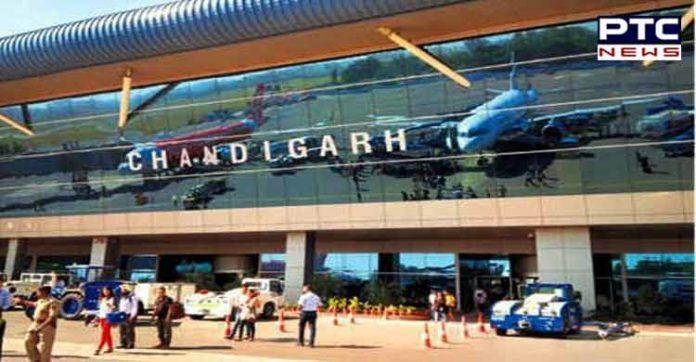 Chandigarh airport functional 24x7