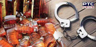 illicit liquor seized