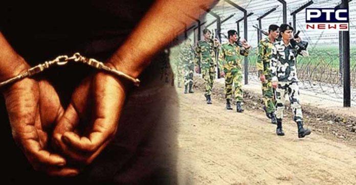 Ferozepur Indo-Pak border near A Pakistani person money Including arrested