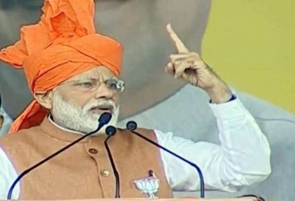 Blinded by anti-Modi sentiment, Cong stopped thinking in nation's interest: PM