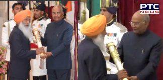 Sukhdev Singh Dhindsa receives Padma Bhushan Award