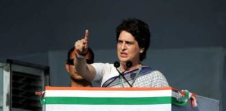 Priyanka addresses 1st rally after getting key post; takes on PM in his home state of Gujarat