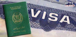 Pakistan citizens' US visa reduced
