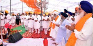 SGPC secretary Jaurasingha Father Mahinder Singh Last Prayer
