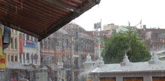 Nepal rainstorms