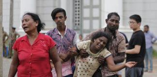 Sri Lankan blasts victims