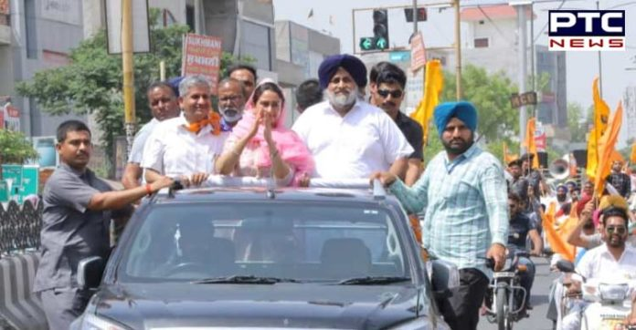 Harsimrat Badal thanks CM
