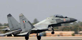 IAF scrambles Sukhoi-30 jets after sighting Pakistani drone