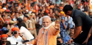 PM holds mega roadshow in Varanasi