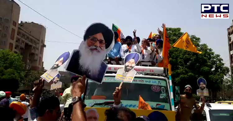 Maheshinder Grewal files nomination papers from Ludhiana