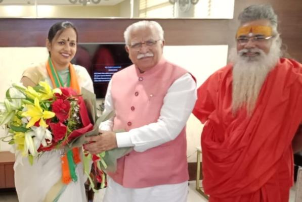 Vandana Popli Joins BJP