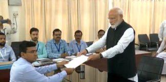 PM Modi Nomination