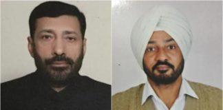 Sukhbir Badal Ravinder Singh and Ashwani Kumar Secretaries to SAD President