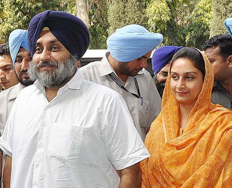 SAD announces Harsimrat Kaur Badal
