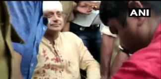 Shashi Tharoor hospitalized