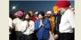 BJP candidate Sunny Deol At Sri Harimandir Sahib Amritsar