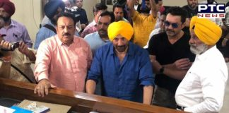 Sunny Deol files nomination from Gurdaspur parliamentary constituency