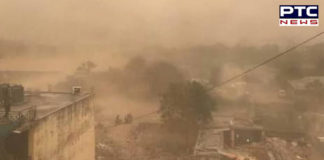 dust storm predicted