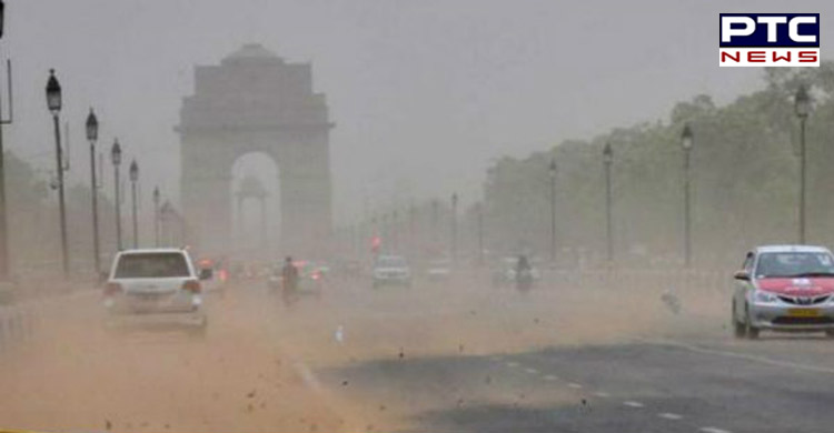 Thunderstorm and dust storm predicted in Delhi