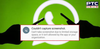 WhatsApp ban Screenshots