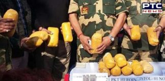 BSF seizes Heroin worth Rs 15 crore