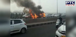 CNG car explosion