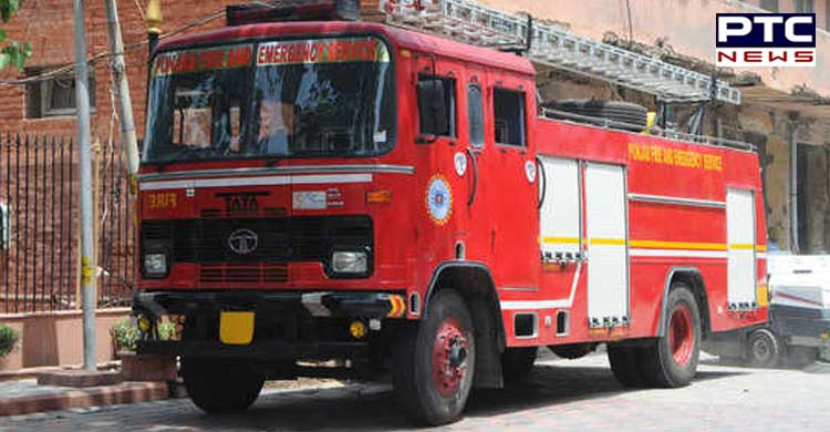 Close shave for senior citizen couple as car catches fire in Chandigarh