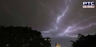 IMD predicts thunderstorm, lightning tomorrow