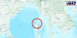 Richter scale strikes Nicobar Islands region