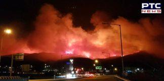 Massive Fire engulfs five cities