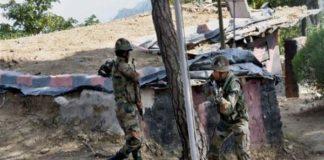 Pakistani shelling
