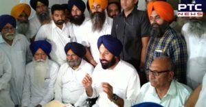 Bikram Singh Majithia Dr. Dalbir Singh Verka Home Press conference