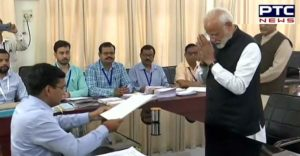 PM Narendra Modi files nomination from Varanasi parliamentary constituency