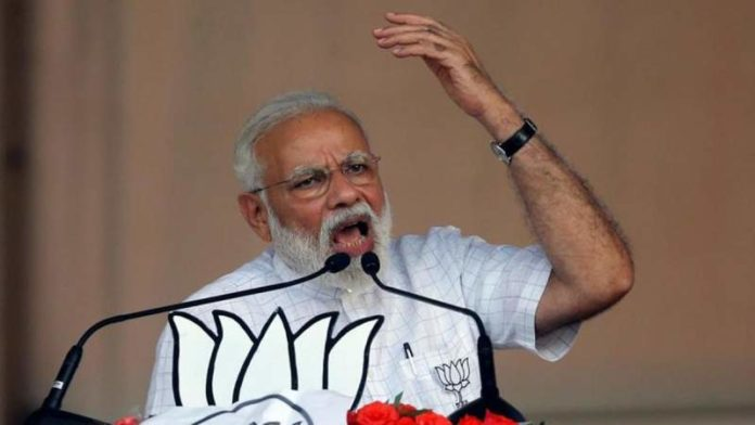 'There is a strong wave in favour of us': PM Modi
