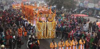 DSGMC Sri Guru Nanak Dev Ji Prakash Purab Delhi To Nankana Sahib Nagar Kirtan