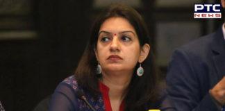 Priyanka Chaturvedi resigns