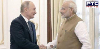 Russia honours PM Narendra Modi