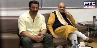 Amit Shah And Sunny Deol picture Viral on Social Media