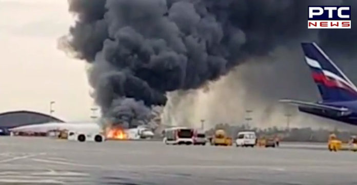 41 Killed as Russian Plane on fire made emergency landing at Moscow Airport