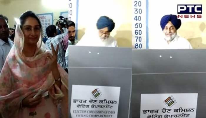 BADAL FAMILY VOTING (1)