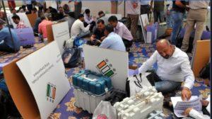 Patiala Lok Sabha seat results Preneet Kaur forward