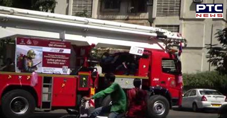 Fire breaks out at residential building in Mumbai