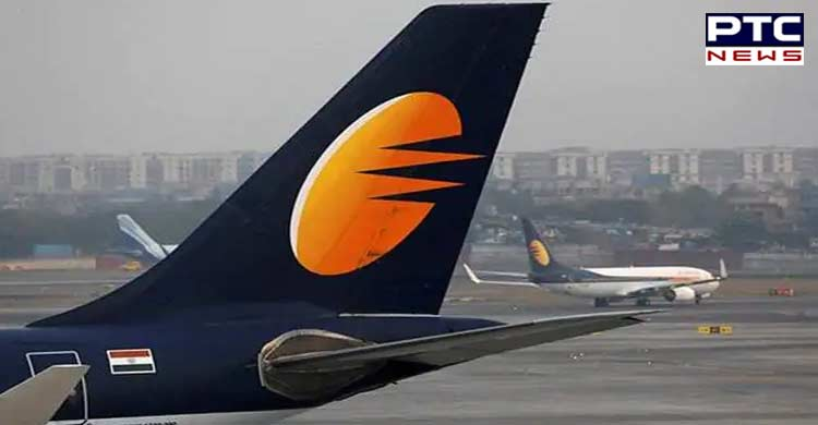 Jet Airways employees hold silent protest at Mumbai International Airport