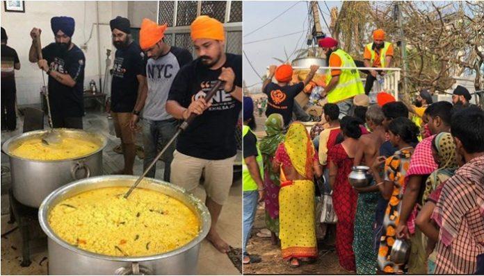 Khalsa Aid reaches Puri