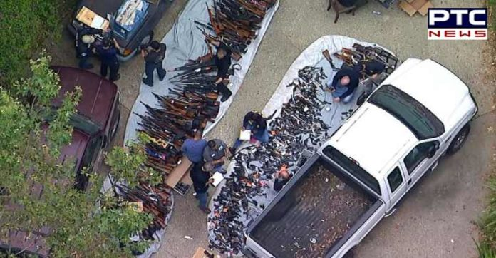 More than 1000 guns seized from LA home
