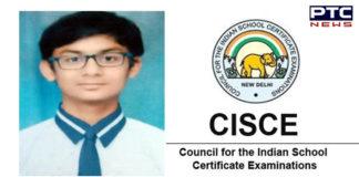 Mukstar boy tops Class 10 ICSE examination with 99.60 %