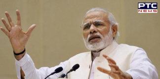 Narendra Modi pays homage
