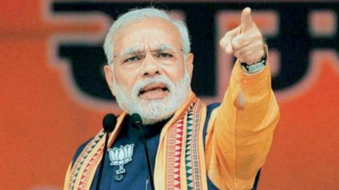 Modi at centre of BJP's poll campaign in national capital