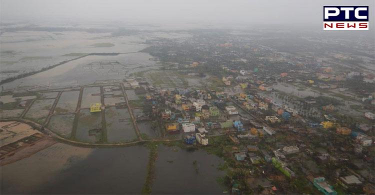 PM Modi conducts aerial survey of Cyclone Fani hit areas in Odisha